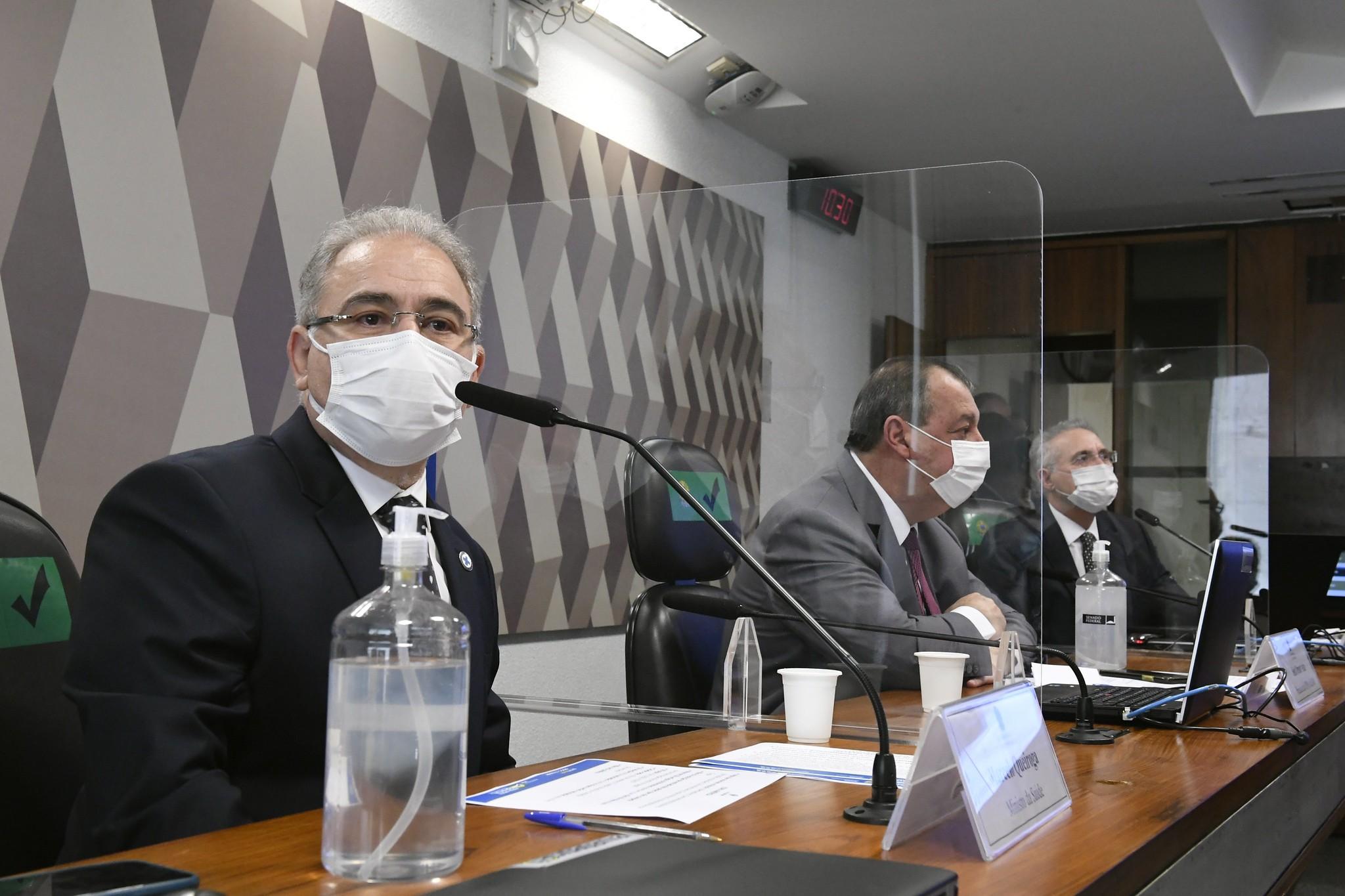 CPI deve convocar Marcelo Queiroga pela terceira vez antes da conclusão dos trabalhos