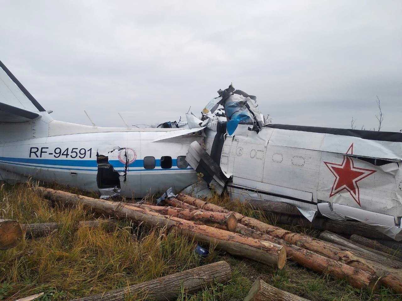 Avião cai na cidade de Menzelinsk, na Rússia
