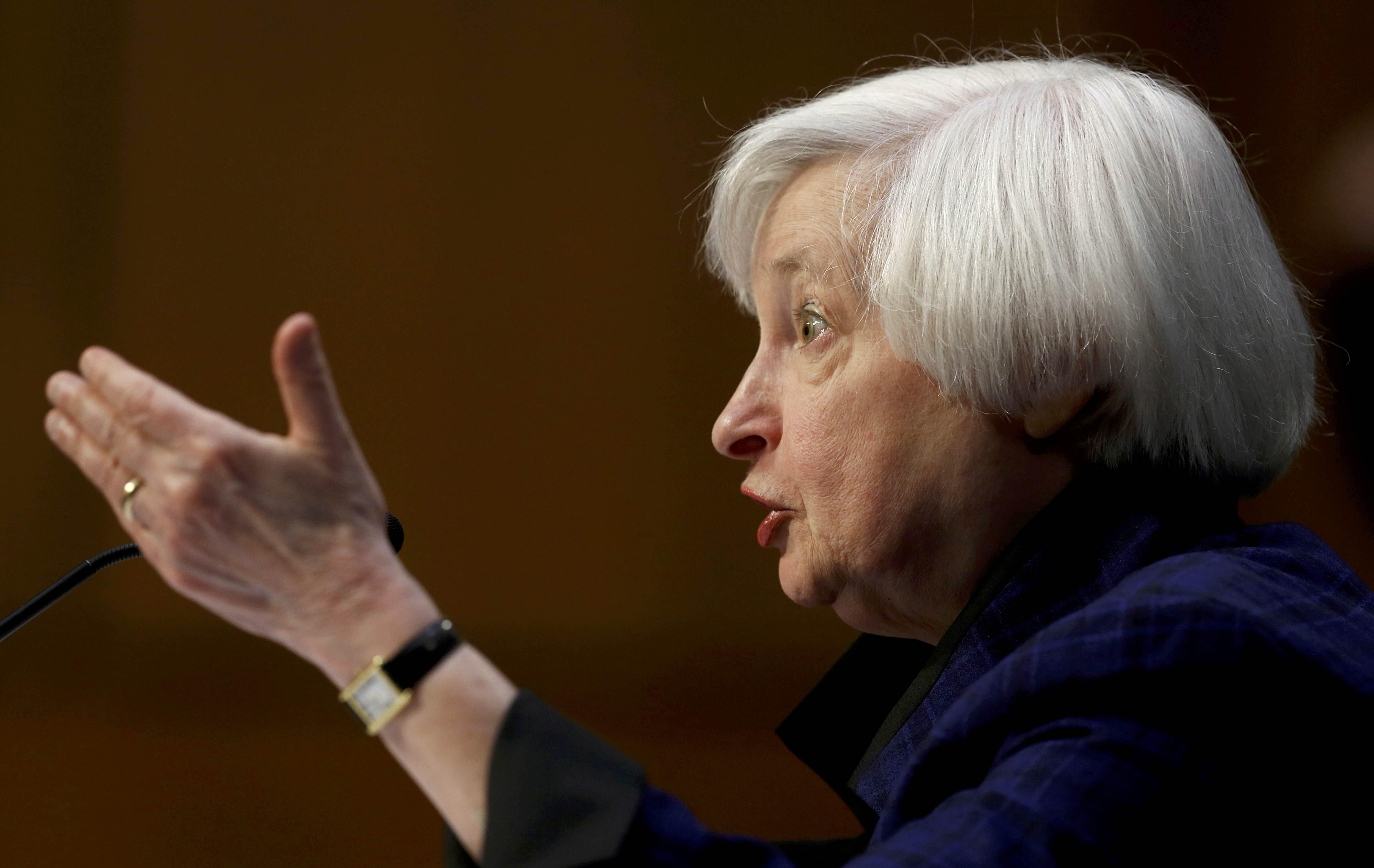 Janet Yellen, secretária do Tesouro dos EUA