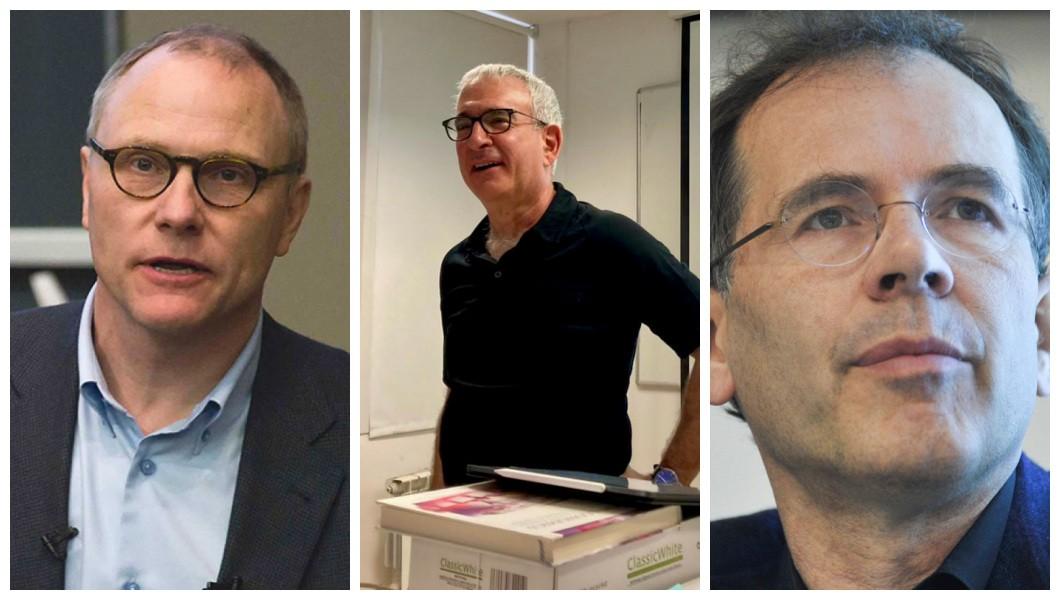 Os pesquisadores David Card, Joshua Angrist e Guido Imbens são os vencedores da premiação em 2021.